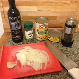 The ingredients. So Simple.