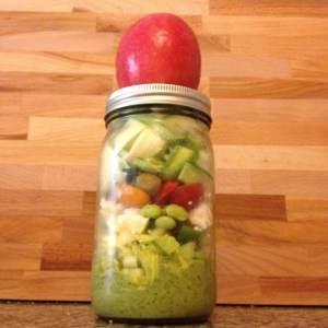 Salads-in-a-jar Ideas