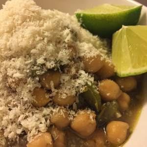 Chickpea Stew with Lime + Breadcrumbs