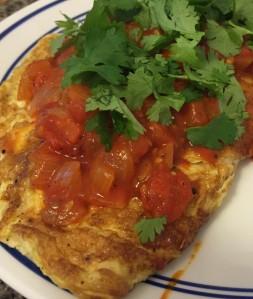 Spanish Egg White Omelet