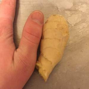 thumb-sized is a technical term