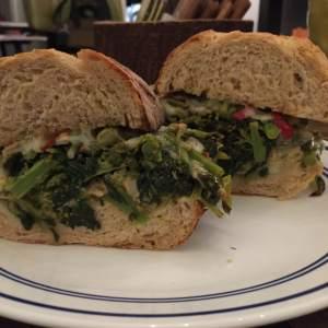 White Bean + Broccoli Rabe Grinder