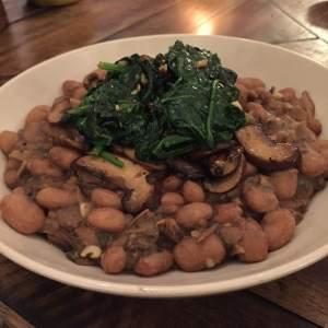Bean and Mushroom Stew