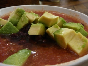 Watermelon + Habanero Gazpacho