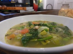 Jamie Oliver's Vegetable and Bean Soup
